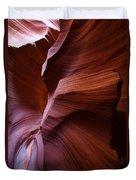 Amber Flow Duvet Cover