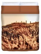 Amber Waves Of Grain Duvet Cover