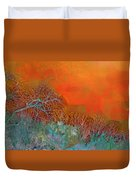 Amber Winter Duvet Cover