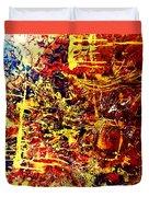 Amber Wonderland Duvet Cover