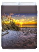 Ambience Of The Gulf Duvet Cover