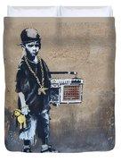 Ambivalence Banksy Duvet Cover