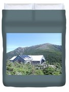 Amc Greenleaf Hut Duvet Cover
