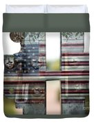 America Land Of The Free Duvet Cover