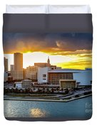 American Airlines Arena Duvet Cover
