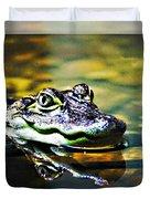 American Alligator 2 Duvet Cover