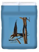 American Bald Eagle I Mlo Duvet Cover