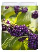 American Beautyberry -callicarpa Americana Duvet Cover