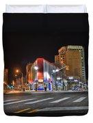American Coney Island Detroit Mi Duvet Cover