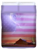 American Country Storm Duvet Cover