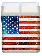 American Flag Art - Old Glory - By Sharon Cummings Duvet Cover