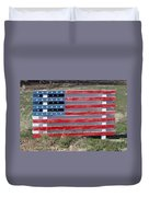 American Flag Country Style Duvet Cover