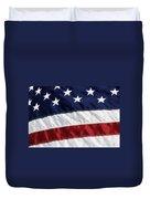 American Flag Duvet Cover by Jill Lang