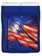 American Flag Photo Art 02 Duvet Cover