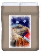 American Flag Photo Art 03 Duvet Cover