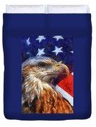American Flag Photo Art 04 Duvet Cover