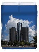 The Detroit Renaissance Center  Duvet Cover