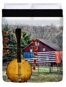 American Folk Music Duvet Cover