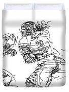 American Football 1 Duvet Cover