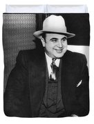 American Gangster Al Capone Duvet Cover