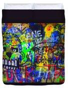 American Graffiti 15 - Crack Head Duvet Cover
