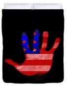 American Hand Duvet Cover