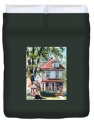 American Home With Children's Gazebo Duvet Cover by Kip DeVore