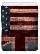 American Jack I Duvet Cover by April Moen