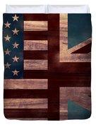 American Jack II Duvet Cover by April Moen