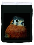 American Kestrel Digital Art Duvet Cover