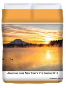 American Lake 2010 Duvet Cover