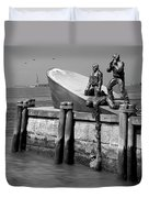 American Merchant Mariners Memorial Duvet Cover by Mike McGlothlen