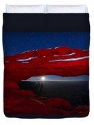American Moonrise Duvet Cover