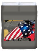 American Motorcycle Duvet Cover