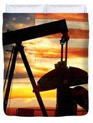 American Oil  Duvet Cover