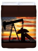 American Oil  Duvet Cover by James BO  Insogna