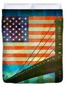 American Pride Duvet Cover by Bedros Awak