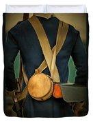 American Revolutionary Soldier Duvet Cover