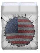 American Sunflower Power Duvet Cover
