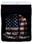 American Tombstone Duvet Cover