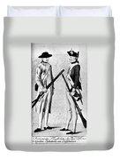 American Uniforms, 1784 Duvet Cover