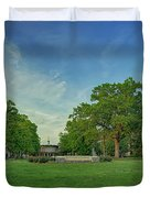 American University Quad Duvet Cover