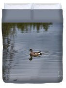 American Wigeon Duvet Cover