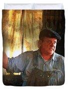 American Workingman Duvet Cover