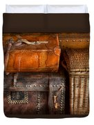 Americana - Emotional Baggage  Duvet Cover