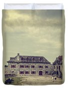Fort Ticonderoga Duvet Cover