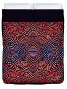 Americana Swirl Design 10 Duvet Cover