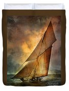America's Cup  Duvet Cover