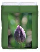 Amethyst Blossom Duvet Cover