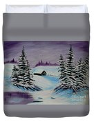 Amethyst Evening After Ross Duvet Cover by Barbara Griffin